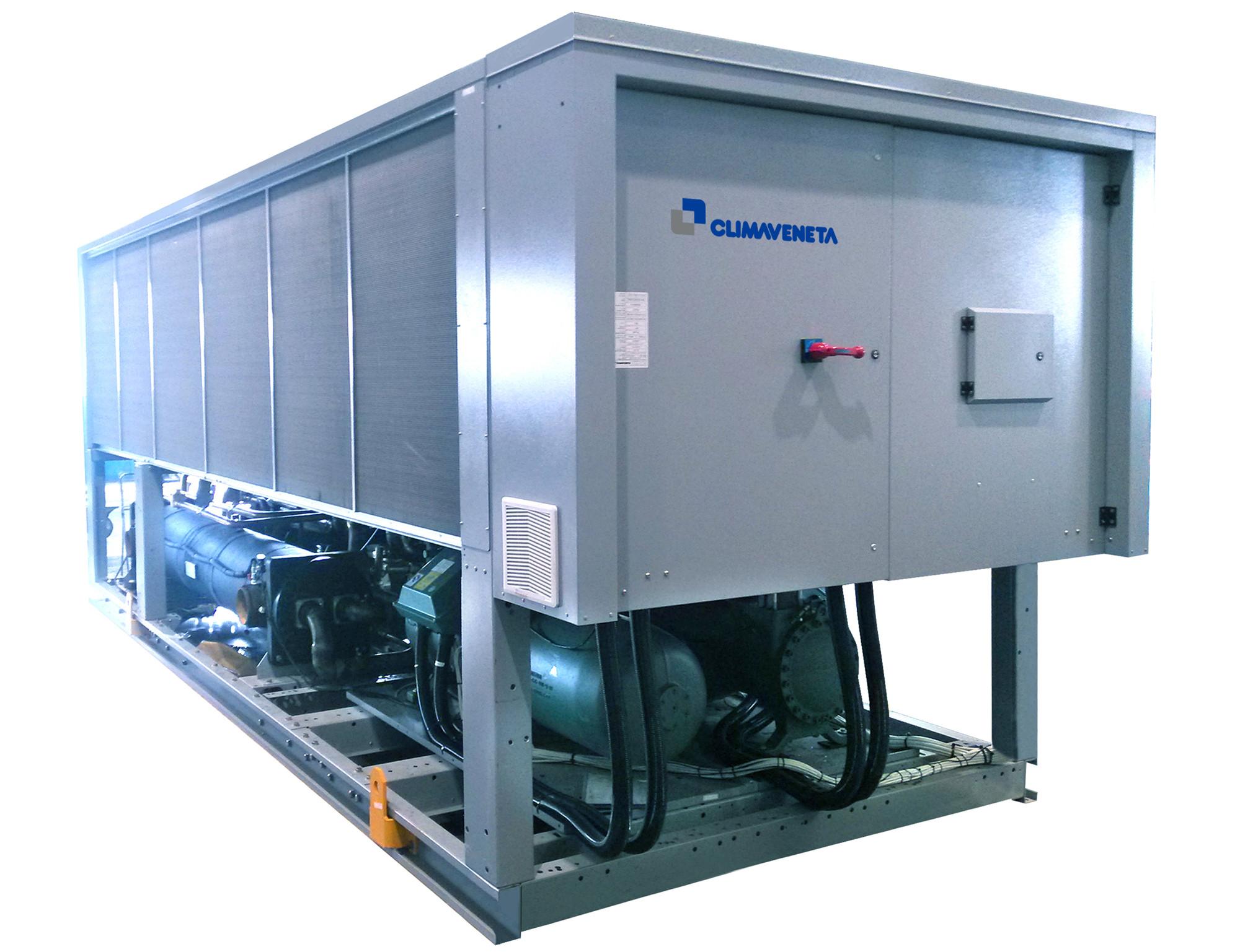 风冷螺杆式热泵机组_克莱门特--风冷热泵